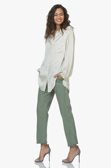 Satin Shirt Naturale