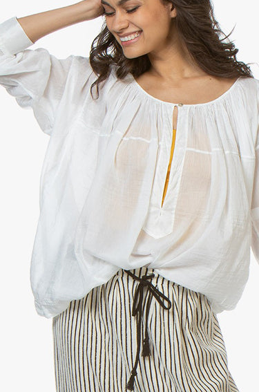 Voile Shirt Bianco