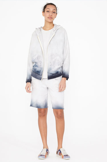Fleece Short Tie Dye