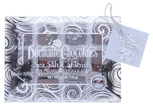 Salted Caramels Specialty Gift Box - 12 Piece. Dark and Milk chocolate. All natural. Brand: Dilettante, USA.