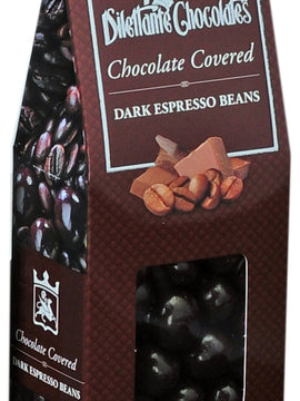 All Natural Dark Chocolate Panned Espresso Beans Gift Box