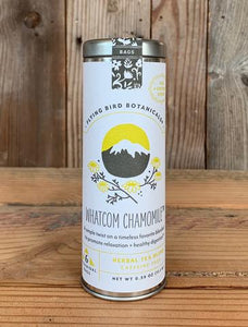 Whatcom Chamomile  - 6 Tea Bag Tin - Herbal Blend