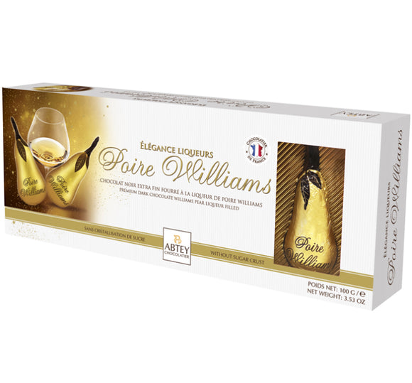 Poire Williams Brandy Filled Dark Chocolate Pears Gift Box