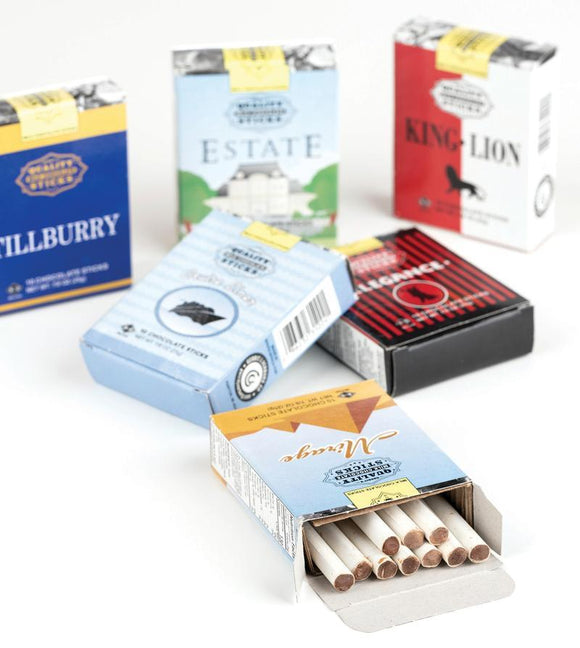 Milk Chocolate Cigarette Sticks