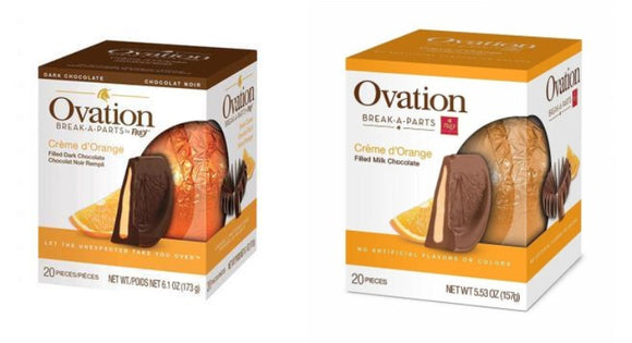 Crème d'Orange Milk and Dark Chocolate 2-Pack