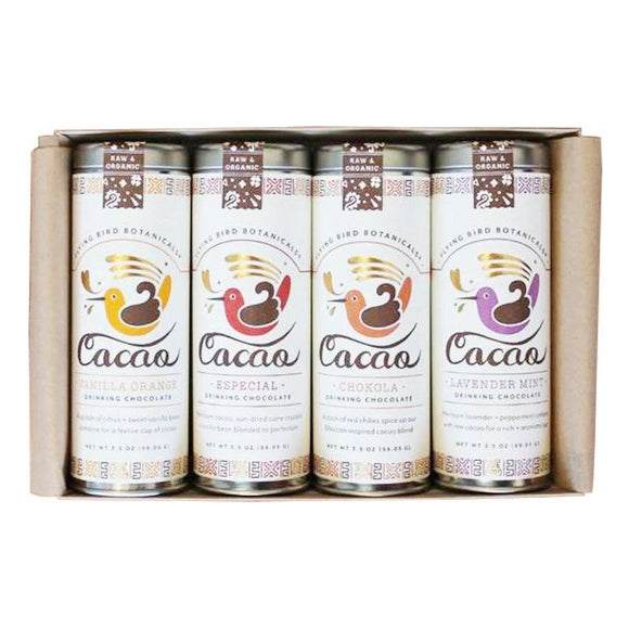 Drinking Chocolate Gift Box - 4 Tins