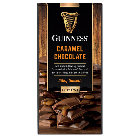 Milk Chocolate Guinness Caramel Bar