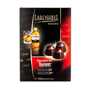 Teacher's Blended Scotch Whisky Filled Chocolates Box