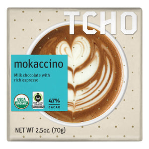 Mokaccino Milk Chocolate Bar