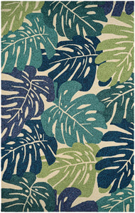 Couristan Covington Monstera Area Rug