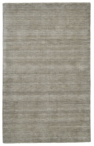 "Feizy Luna 8049F Light Gray 9'-6"" x 13'-6"" Rectangle Area Rug"