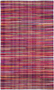 Safavieh Rag Rug RAR240D Red / Multi Rug