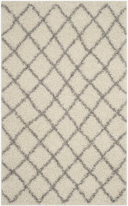 Safavieh Dallas Shag SGDS258F Ivory / Grey Rug