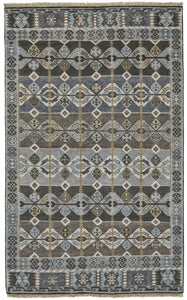 "Feizy Ashi 6130F Steel 5'-6"" x 8'-6"" Rectangle Area Rug"
