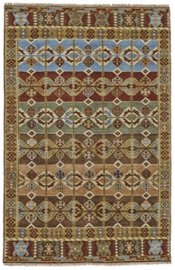 "Feizy Ashi 6130F Multi 5'-6"" x 8'-6"" Rectangle Area Rug"