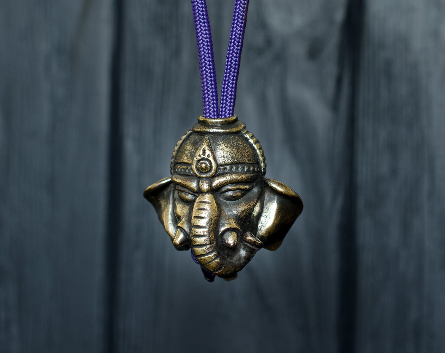 """Ganesha"" paracord beads"