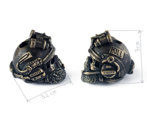 """US army soldier"" paracord bead"
