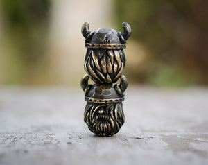 """Little viking"" lanyard bead"