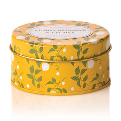 Rosy Rings, Lemon Blossom & Lychee Travel Tin Candle