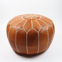 Socco Designs, Moroccan Leather Pouf