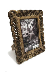 "Wilco Home, 4"" x 6"" Hand Carved Loop Photo Frame"