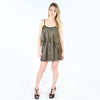 Lovers + Friends, Sunkissed Dress in Gold Metallic