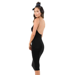 Lucca Couture, Quinn Low Back Knit Dress