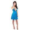 Oh My Love, Plunge Strap Skater Dress