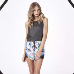 Finders Keepers, All the Colours Skirt in Flowerbomb Print