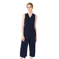 Six Crisp Days, Buckle Overlap Jumpsuit