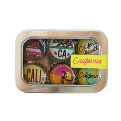 Kate's Magnets, California Magnet - Six Pack