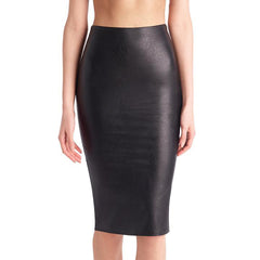 Commando, Faux Leather Midi Skirt