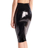 Commando, Faux Patent Leather Midi Skirt