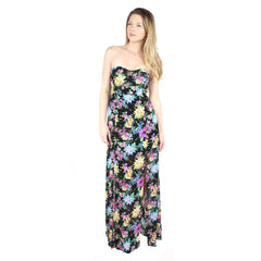 Reverse, Hi-Slit Secret Garden Maxi Dress