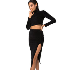 Motel Rocks, Midi Cheri Split Skirt