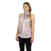 Bishop + Young, Satin Tie Neck Top