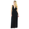 WAYF, Surrey Plunging Cut Out Maxi Dress