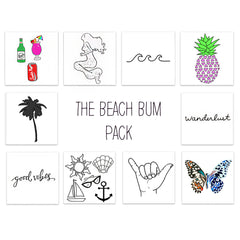 Inked by Dani, The Beach Bum Pack
