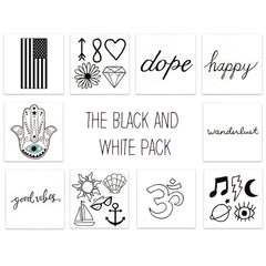 Inked by Dani, The Black And White Pack