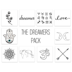 Inked by Dani, The Dreamers Pack