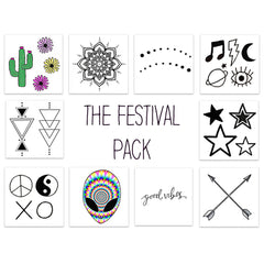 Inked by Dani, The Festival Pack