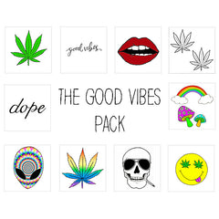 Inked by Dani, The Good Vibes Pack