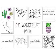 Inked by Dani, The Wanderlust Pack