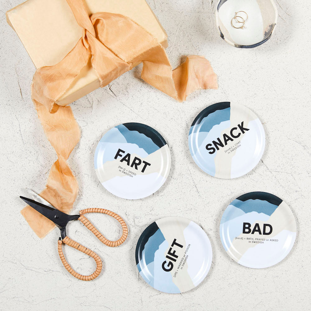 Swedish Words Coasters - NICE