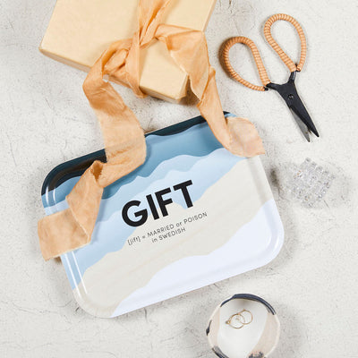 Swedish Words Tray - GIFT 27x20cm