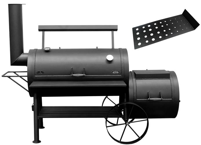Bbq Pit Boys offset smoker Colossus
