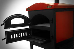 Bbq Pit Boys Wood Fired Outdoor Pizza Oven with Standard Cart - Item #1403R