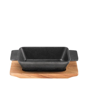 Pyrolux Pyrocast Rectangular Baker with Maple Tray