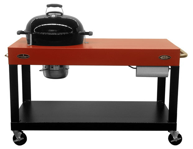 "Santa Lucia Grill Cart for 22"" Rd. Weber Grill - #SLGCRD22 (Grill not included) SANTA CORONA COLLECTION"