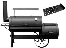 "Bbq Pit Boys Offset Smoker 24"" Wood & Charcoal Burning #2401 Colossus - 2064 Sq. In. Surface w/Firebox"